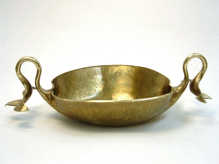 Handcrafted Brass Candy Dish, by Metalsmith Steve Shelby