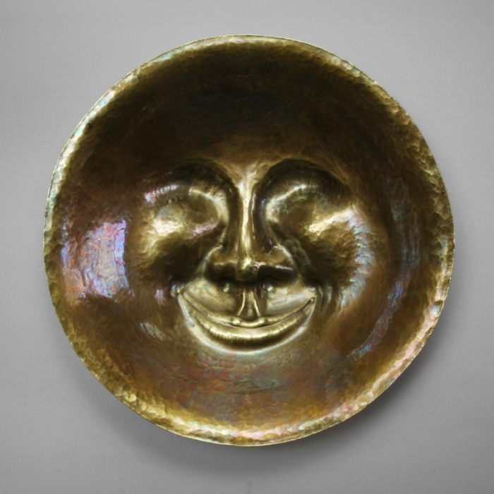Man in the Moon Bowl by Steve Shelby