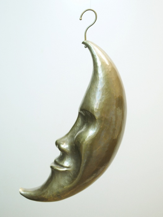 Moon Face, Sculpture by Steve Shelby