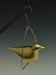 Bird on Swing, Hanging Ornament by Steve Shelby
